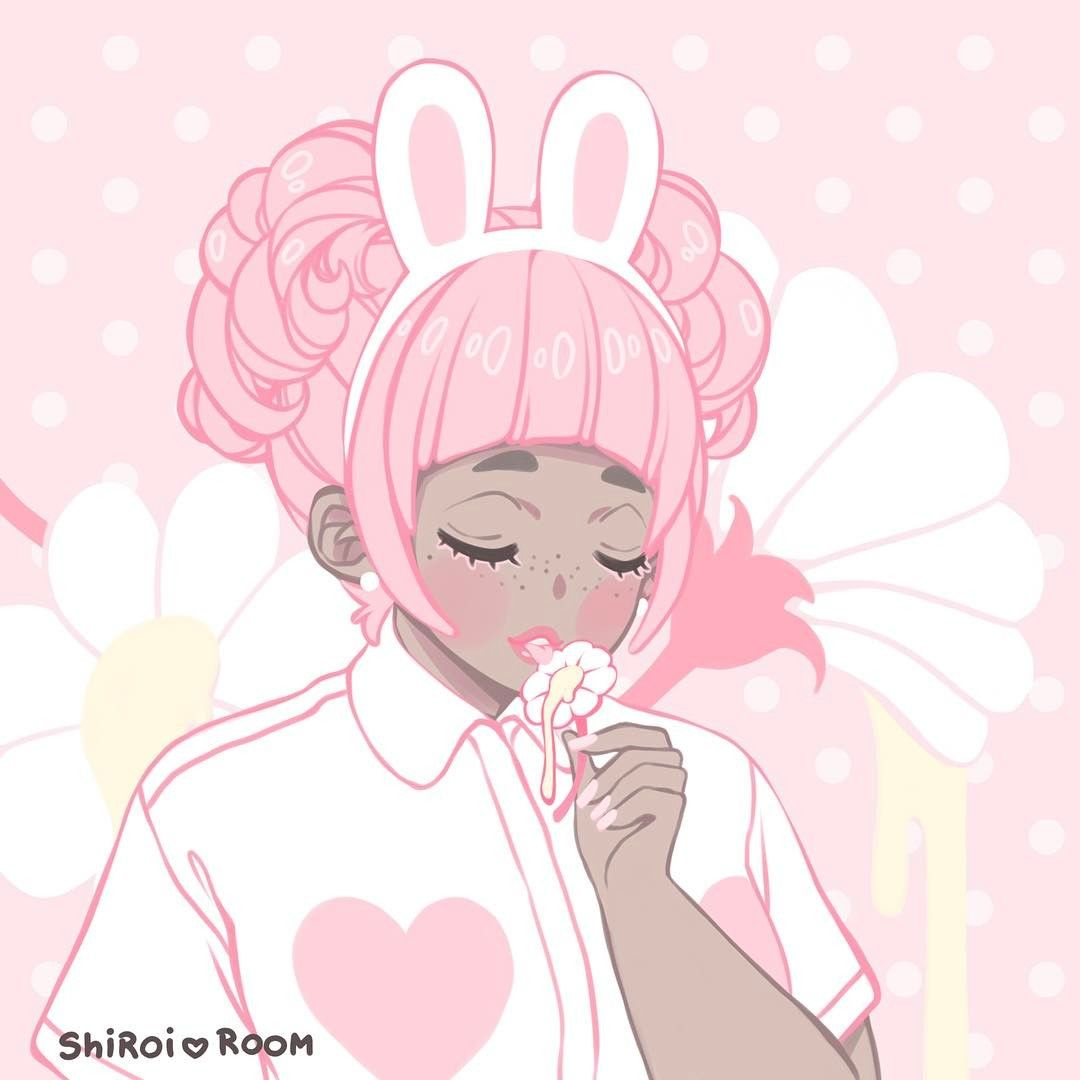 A close up of the cutest bunny 🌸