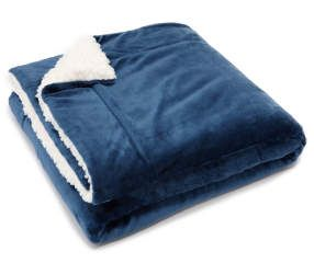 I found a Navy Sherpa Throw at Big Lots for less. Find more Blankets  & Throws at biglots.com!
