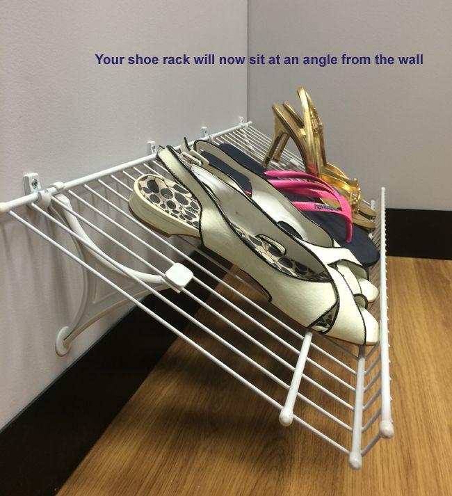 Closetmaid Shoe Rack Installation Shoe Rack Shoe Rack Closet Closetmaid