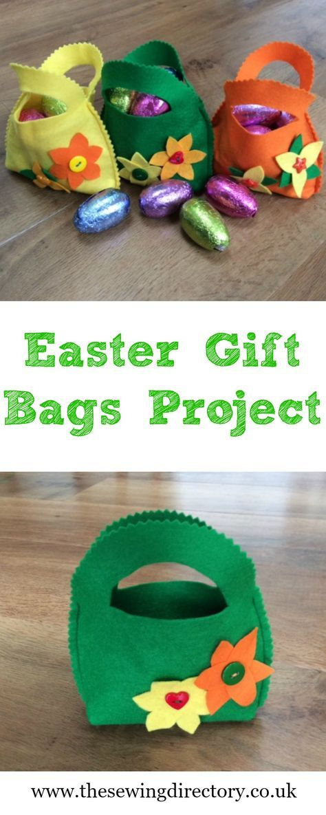 Sew these lovely easter gift bags to fill with treats craft sew these lovely easter gift bags to fill with treats negle Images