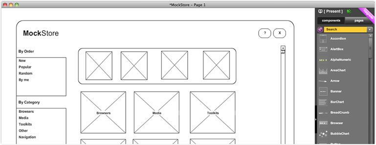 Free Wireframe Desktop Editor W Offline Sync For Mockflow Ned12 Basic Includes 1 Project With 4 Web Design Prototyping Tools Web Design Inspiration