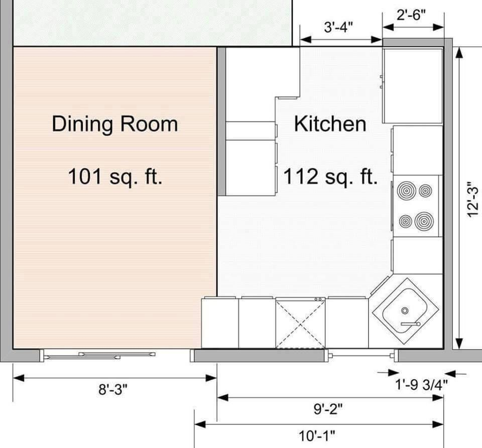 Standard Kitchen Dimensions And Layout Engineering Discoveries