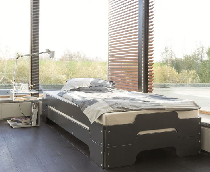 Stackable Guest Beds For Small Spaces Rolf Heide S Stapelliege Beds For Small Spaces Bed Design Guest Bed