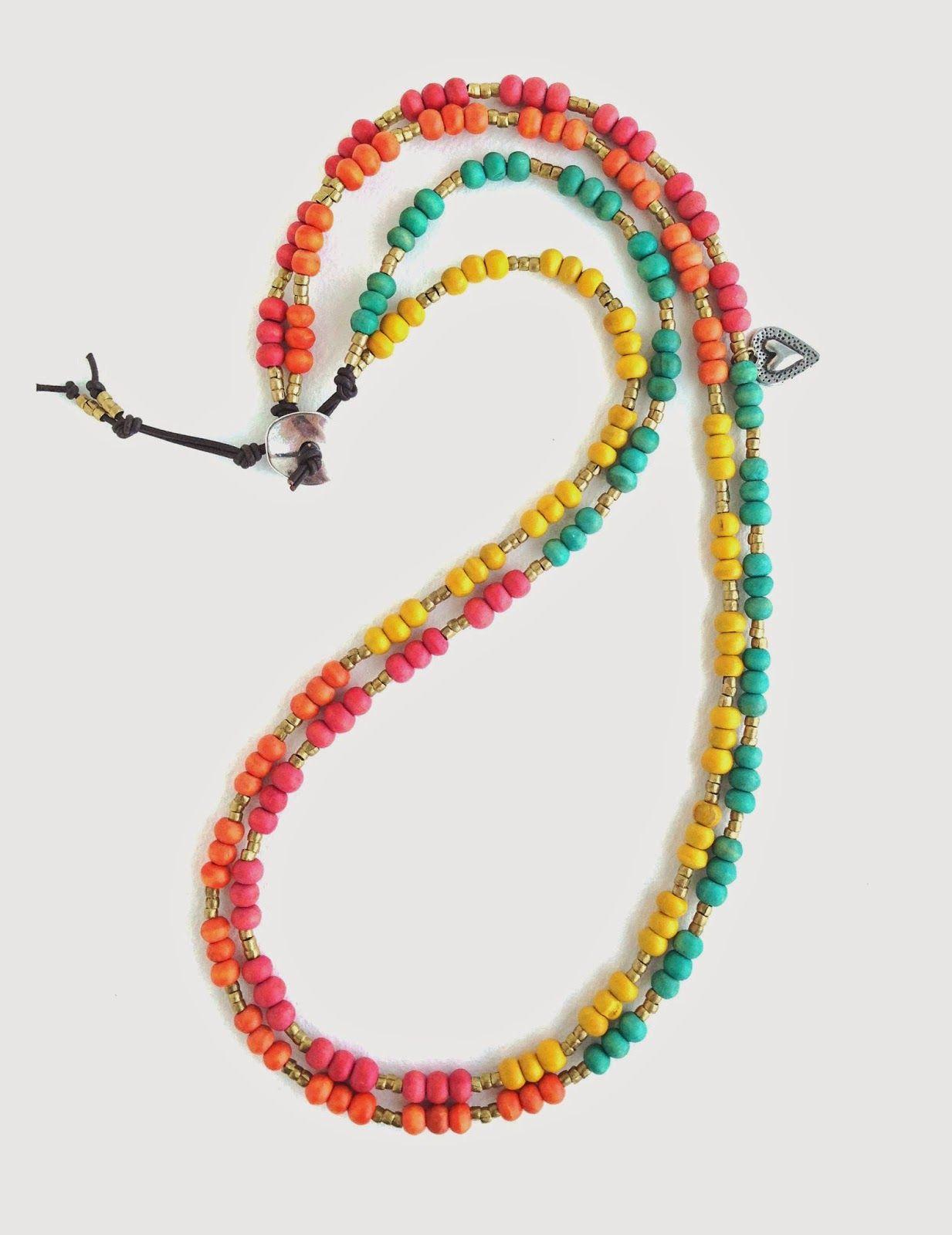 Erin Siegel Jewelry: Color Me Happy Necklace/Bracelet Wrap DIY TUTORIAL