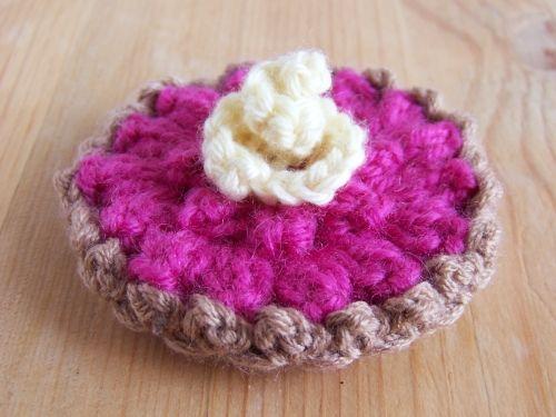 Tartelette - 2012  #tuto #pattern #crochet #food
