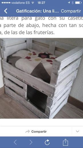 excellent inspiration ideas cool cat houses. Dishfunctional Designs  Cool Cat Houses For Cats DIY Tap the link now to see all of our cool cat collections Cama para gatos con 2 cajas de fruta Inspiration Pinterest