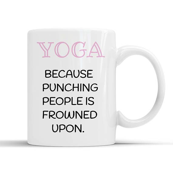 Funny Yoga Mug Gifts With Quotes Sayings Lover Gift