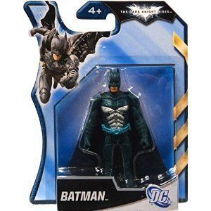 Batman Dark Knight Rises 4 Inch Action Figure Blue Armor Batman By