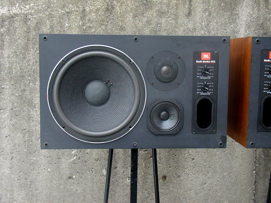 jbl 4412. zilch described the jbl 4412 as true studio monitors, impeccably accurate, neutral and transparent jbl s