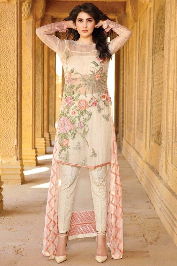 Photo of Black-Jewel Embroidered Banarsi Net Dress