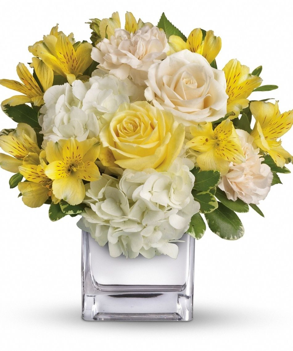 Yellow And White Flower Arrangements New House Designs