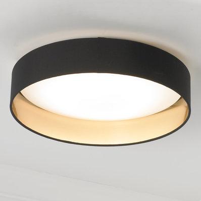Modern Ringed Led Ceiling Light In 2020 Bedroom Light Fixtures Black Ceiling Lighting Ceiling Lights