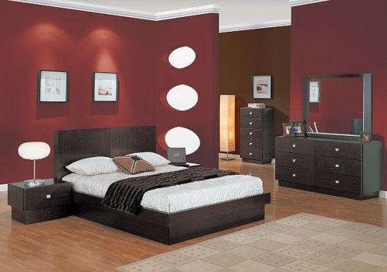esempi-soggiorno-camera-da-letto-wenge-6 | Modern terracotta nel 2018