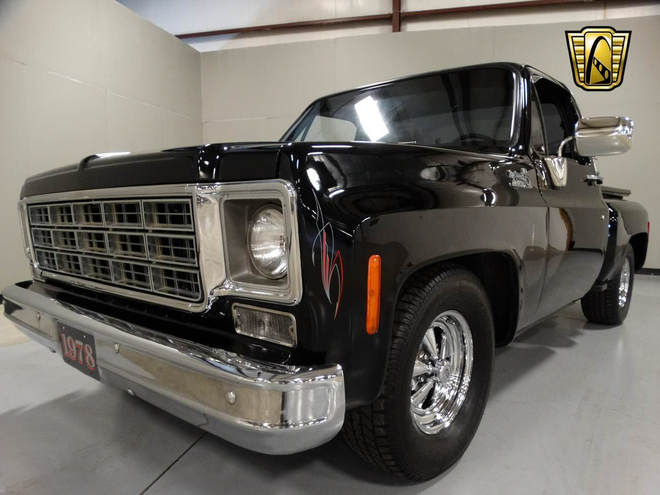 1978 chevy c10 autotrader classics 1978 chevrolet c10 truck black 8 cylinder  [ 1296 x 972 Pixel ]