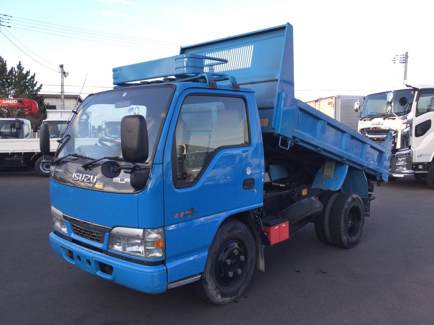 2003 Isuzu Elf 3 Ton Tipper Truck Kr Nkr81ed Low Mileage Trucks Used Trucks For Sale Dump Trucks For Sale