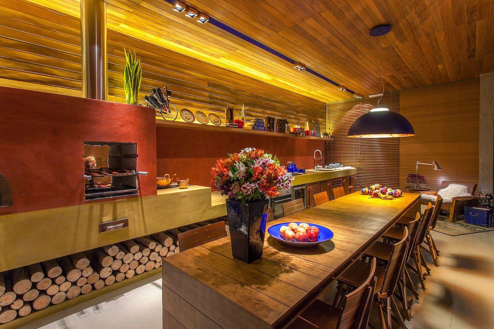 Fog O A Lenha Veja Lindos Modelos Em Cozinhas Modernas E Caipiras
