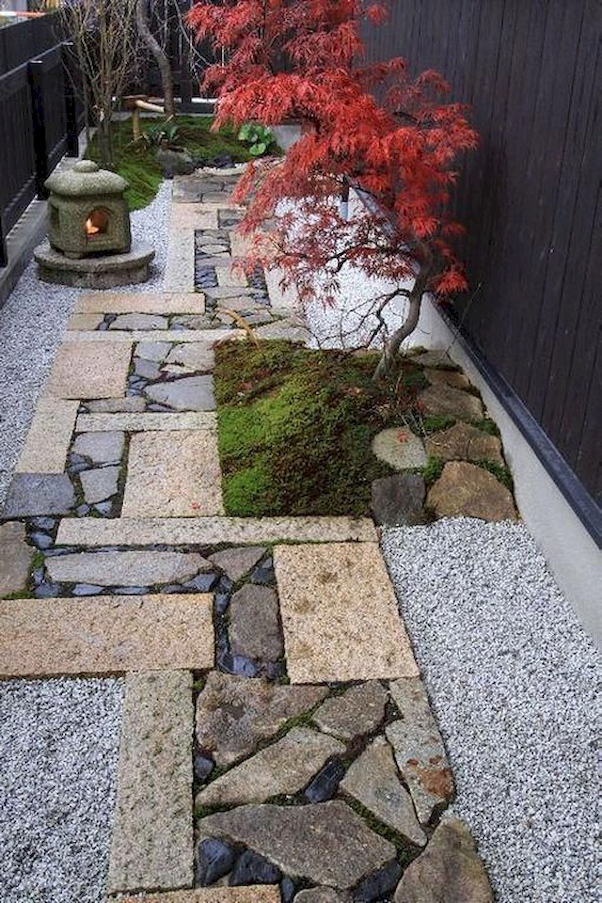 Japanese Garden Frontyard -   13 garden design House outdoors