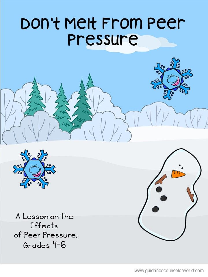 Guidance Lesson On The Effects Of Peer Pressure Grades 4 6 Teach Kids How To Recognize The Physical Peer Pressure Lessons Peer Pressure Guidance Lesson Plans