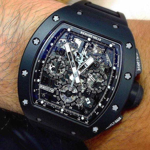 45d6f14dcec Richard Mille RM011 Black Phantom