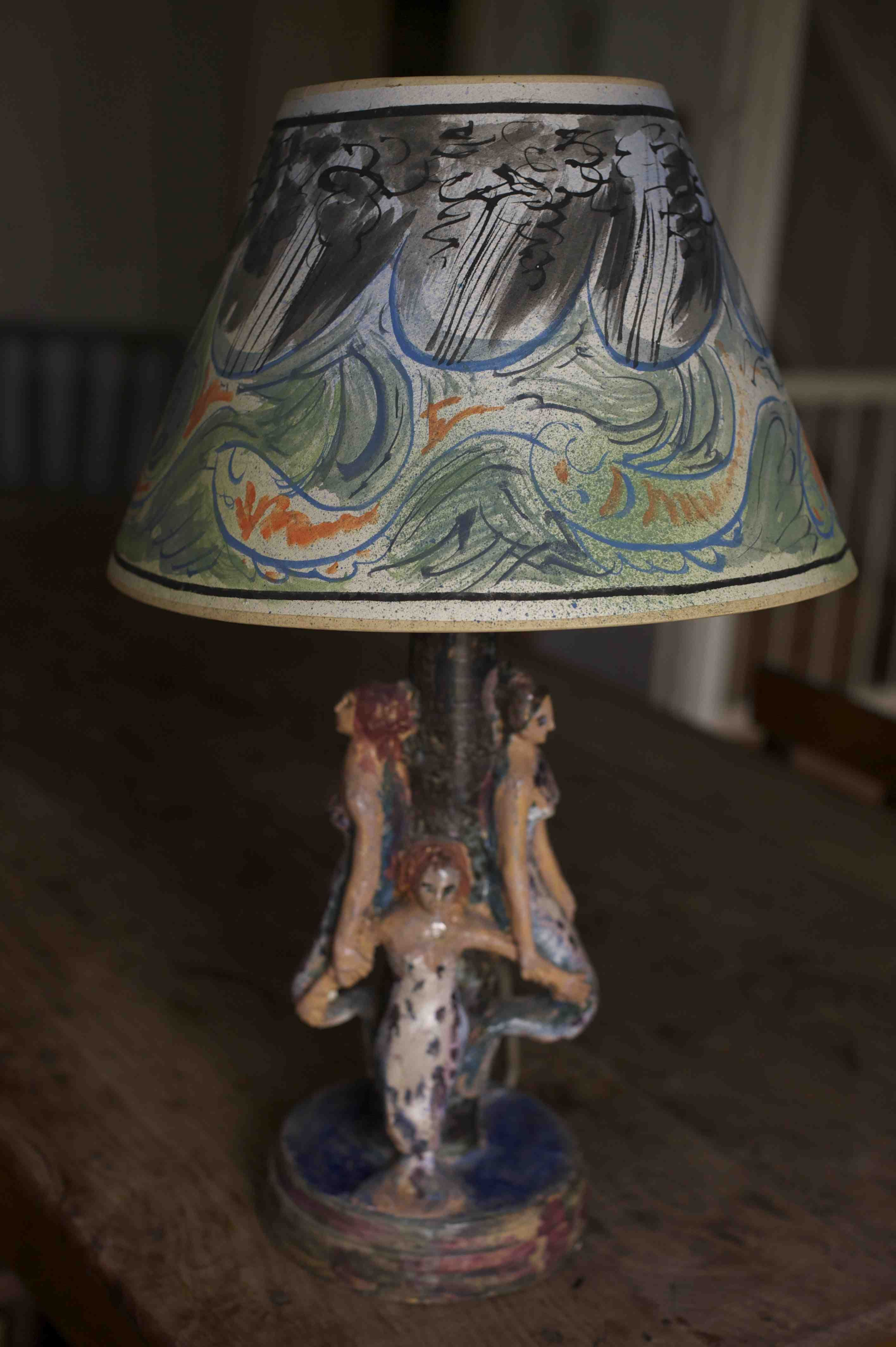 For Sale A New Departure For Us Here At The Painted House Co Uk We Are Starting To Sell Painting Lamp Shades Bloomsbury Group Country Living Christmas Fair