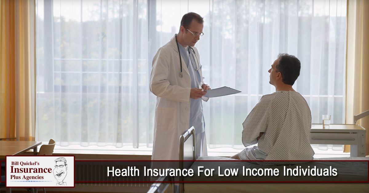 Health Insurance For Low Individuals health