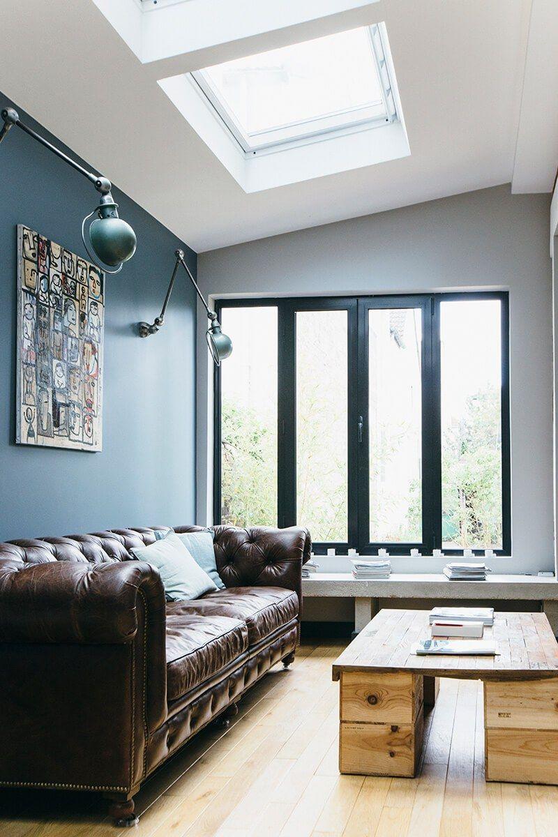 Nuances De Bleu Style Industriel Idée Deco Pinterest