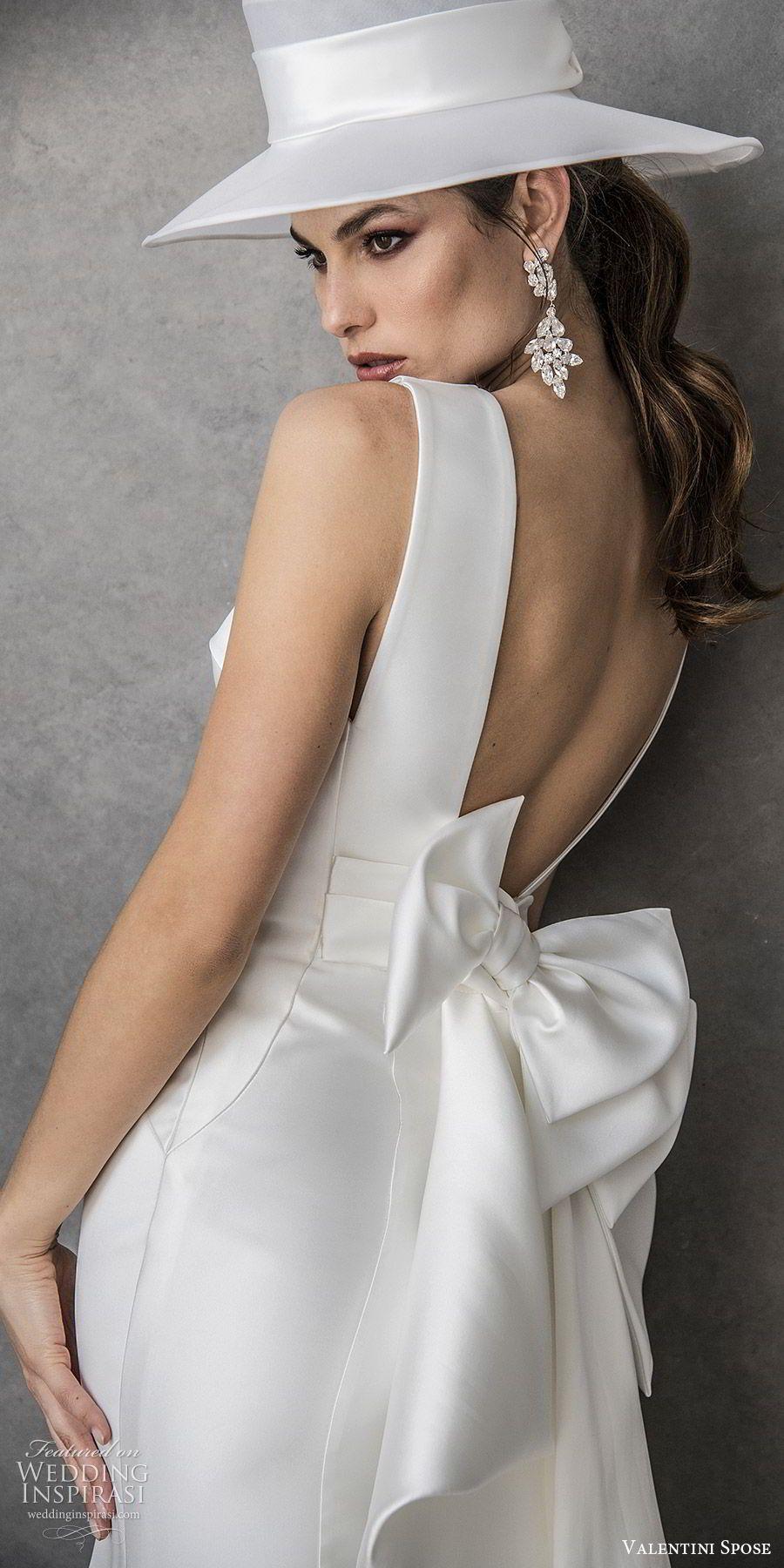 Valentini Spose Spring 2020 Wedding Dresses Wedding Inspirasi Indian Wedding Dress V Neck Wedding Dress Bridal Dresses