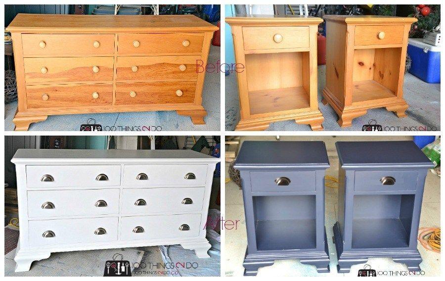 Dresser Makeover Naughty Knotty Pine Pine Furniture Makeover Bedroom Furniture Makeover Furniture Makeover Dresser