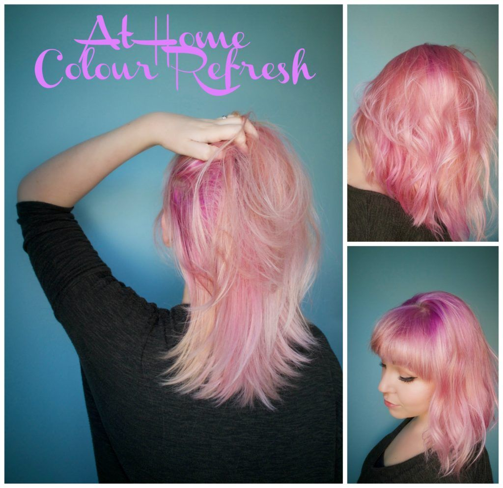 At home colour refresh u unicorn hair beauty posts from