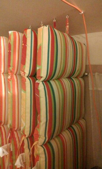 redo sling patio chairs garden steamer chair covers this is a neat idea i had come up with. hanging hooks from the ceiling and your ...