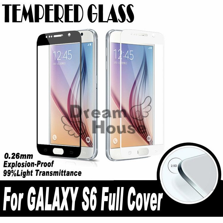 0.26MM 2.5D New Reinforced Screen Printing Toughened Glass For Samsung Galaxy S6 G9200 SM-G920 Full Cover Tempered Glass film #>=#>=#>=#>=#> Click on the pin to check out discount price, color, size, shipping, etc. Save and like it!