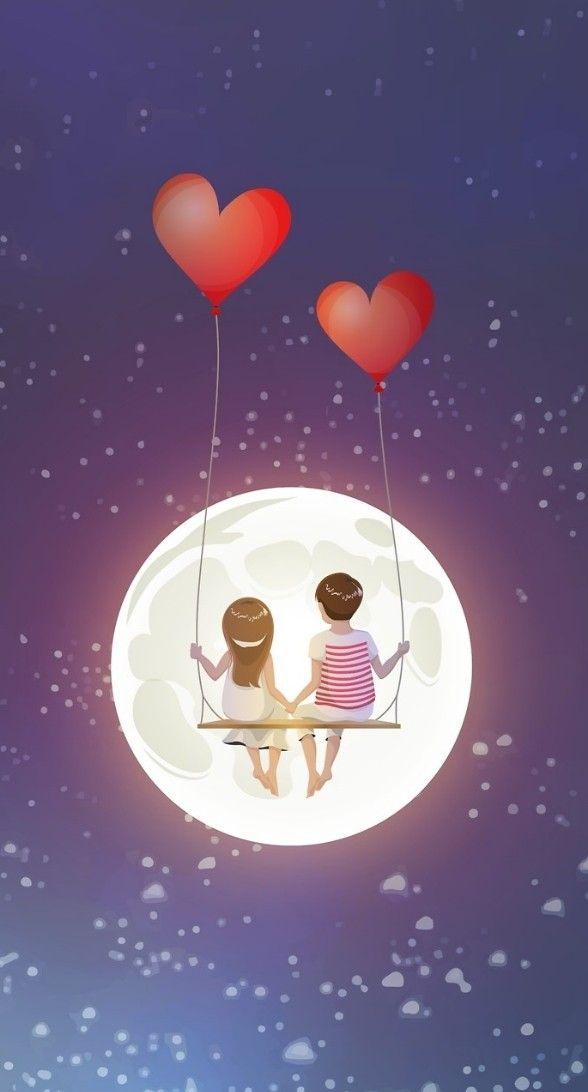 Pin By Alexander Suarez On Wallpaper Cute Couple Wallpaper Cute Love Wallpapers Cute Cartoon Wallpapers