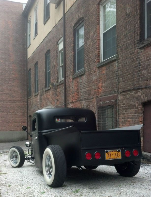 1937 Ford F100 Pickup Truck, Chopped And Channeled Old School Hot ...