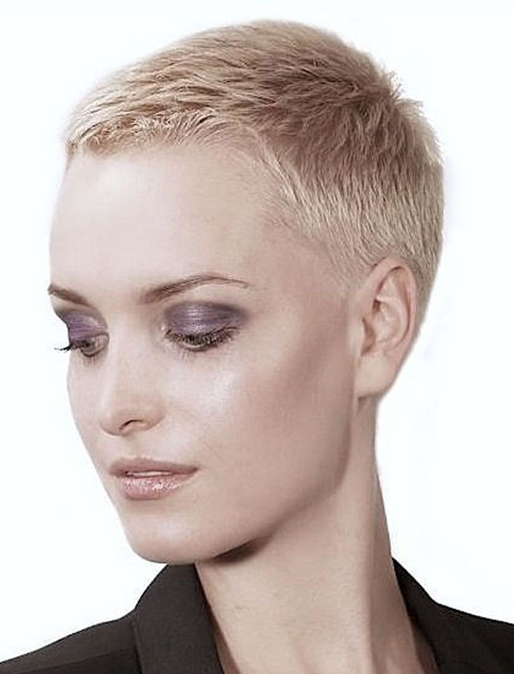 Very Short Pixie Haircut Tutorial Images For Glorious Super Short Haircuts Very Short Haircuts Really Short Hair