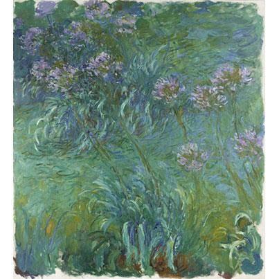 Claude Monet Agapanthes 1914