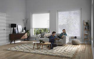 Een revolutionair nieuw systeem dat je raamdecoratie automatisch