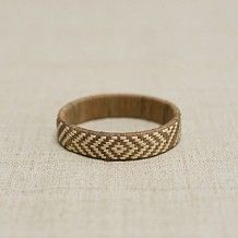 Lauhala Bracelet / Light Brown