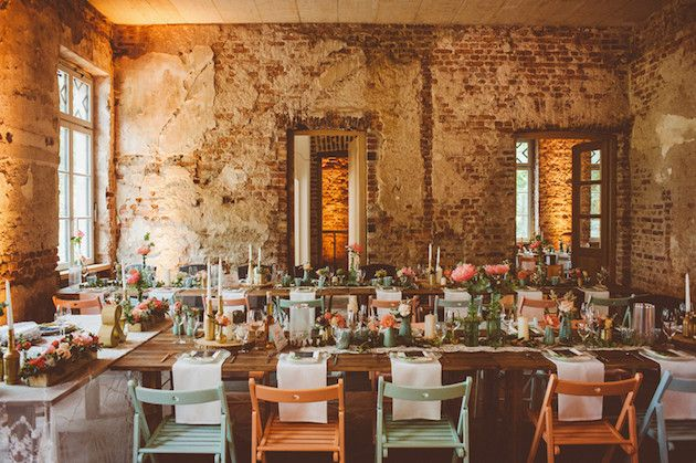 Sweet German Wedding with Gorgeous Rustic Decor  Das