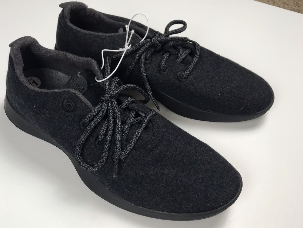 a4a157f72ce69 Allbirds Men's Size 11 Wool Runners Natural Black #fashion #clothing ...