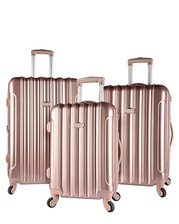 51f3dc198 kensie Expandable Luggage Collection - Rose Gold | Luggage in 2019 ...