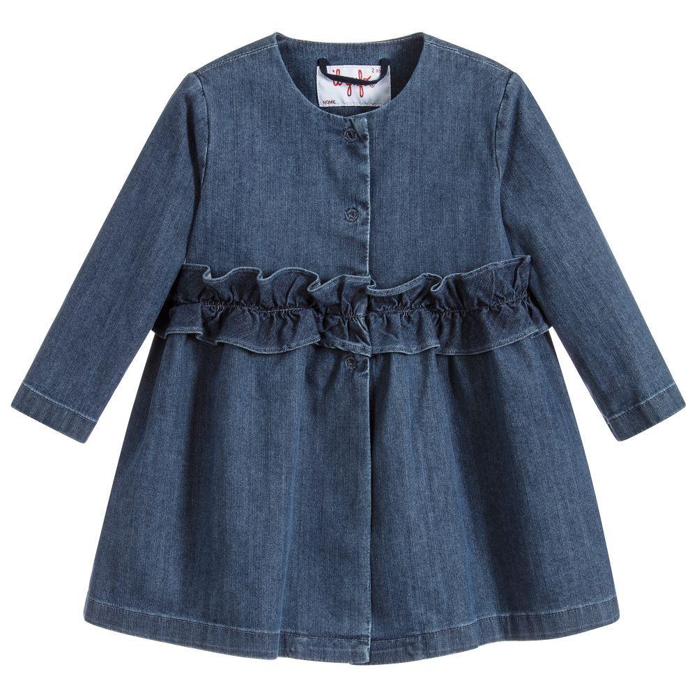 427712ccc Baby Girls Blue Denim Coat