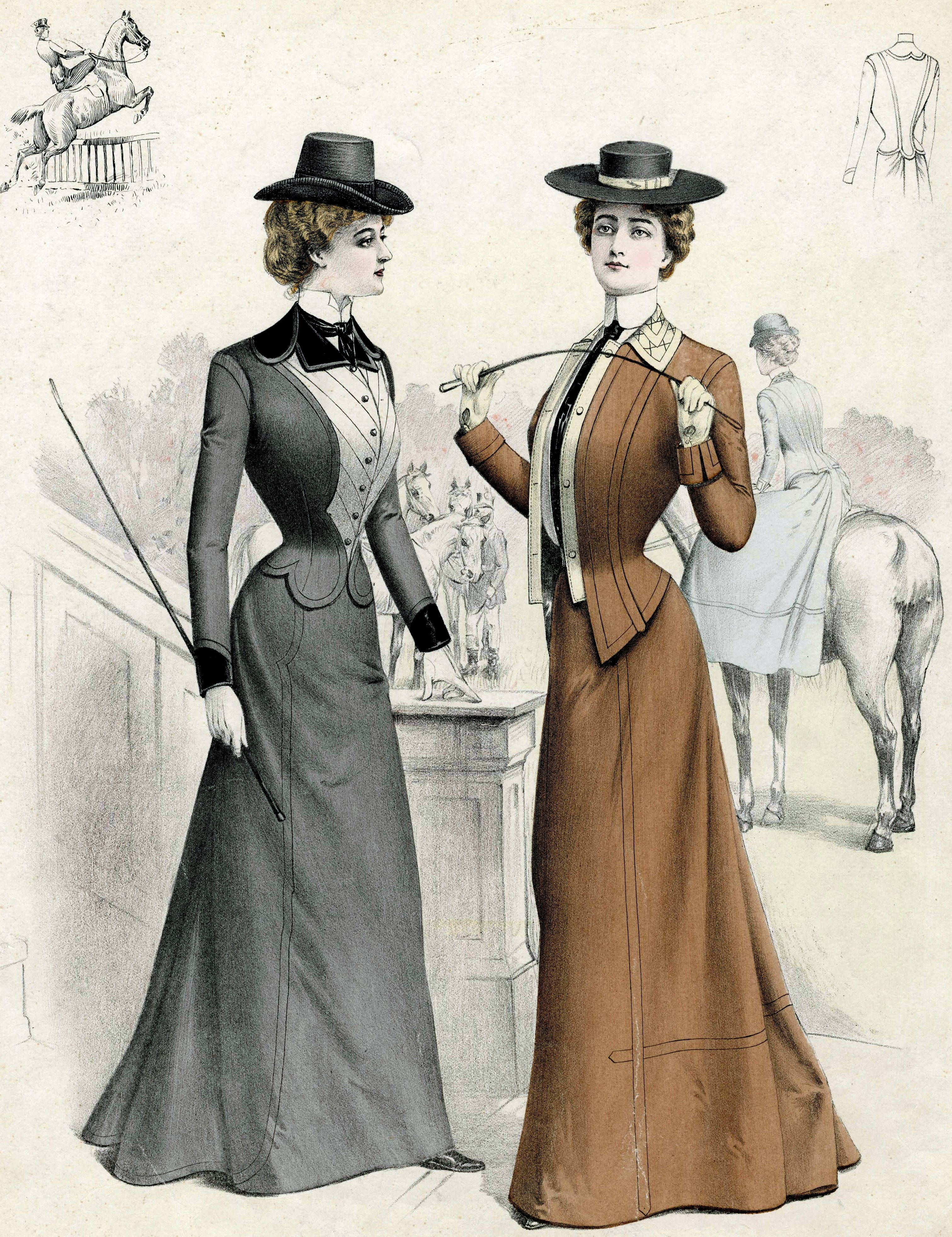 Victorian Fashion And Beauty Facts  Victorian Fashion -1392