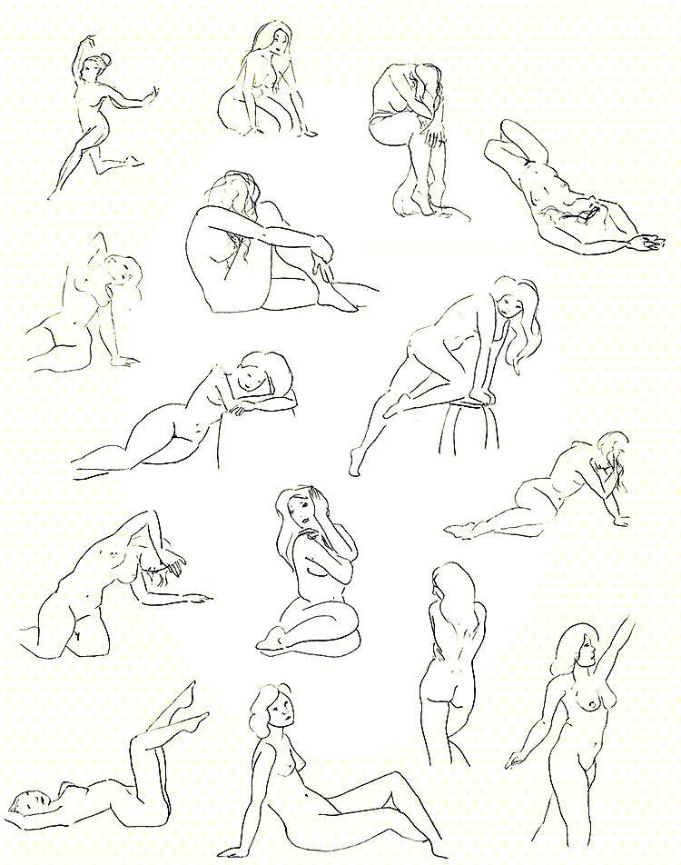 Croquis depuis modèle en ligne Figure & Gesture Drawing