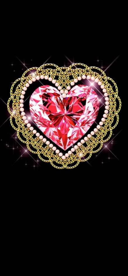 58+ ideas for wallpaper iphone pink gold heart