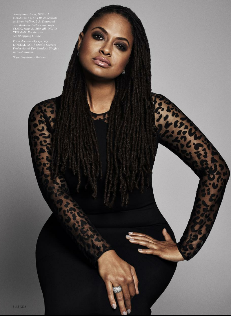 Elle Magazine November 2015 Director Ava Duvernay Le