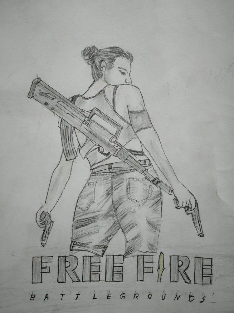 Garena Free Fire Art Fire Drawing Fire Art Fire Sketch