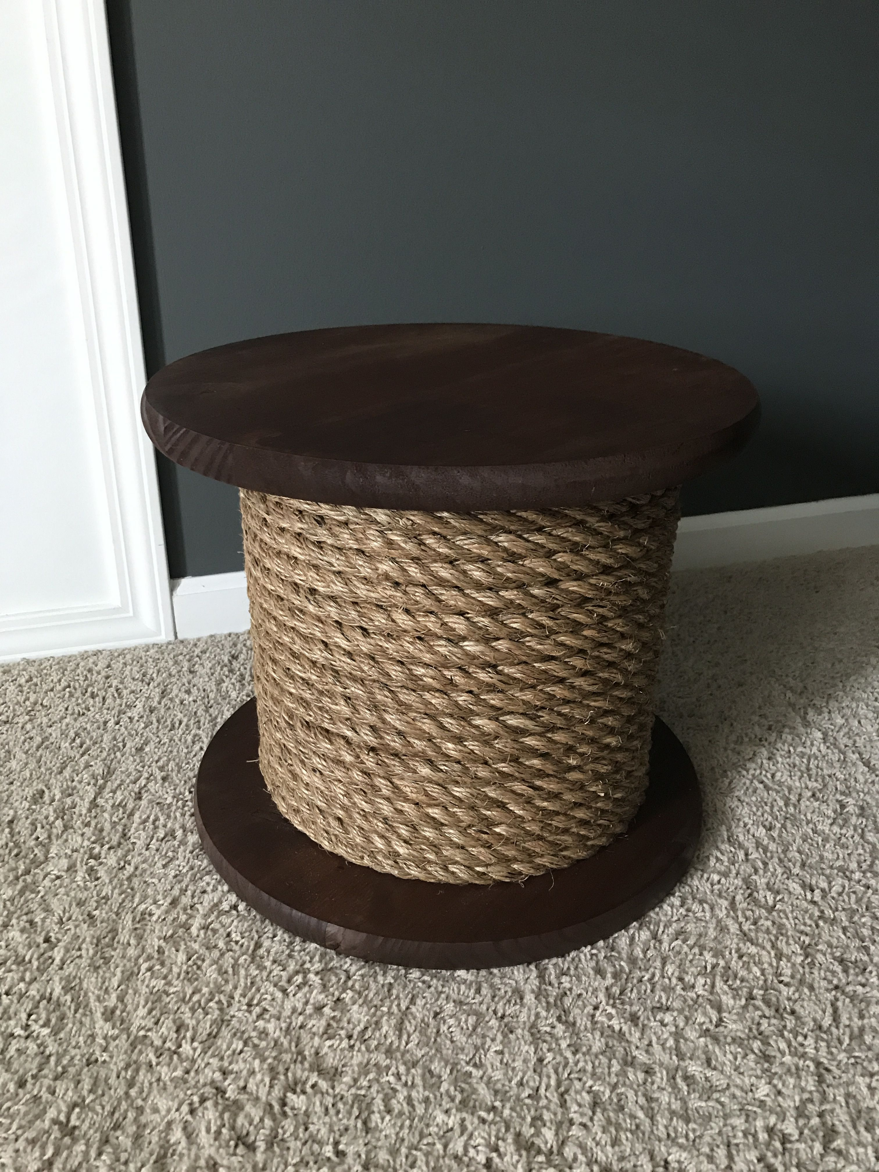 Stool made with Sonotube (Home Depot) | Garden stool | Pinterest ...