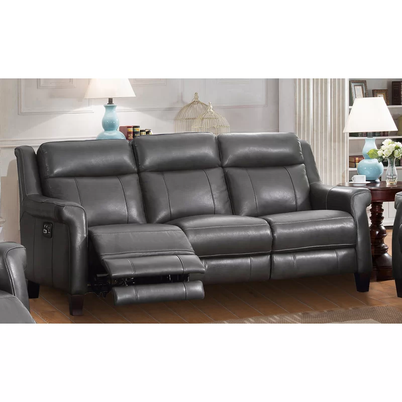 Guyette Leather Reclining Sofa Leather Reclining Sofa Reclining
