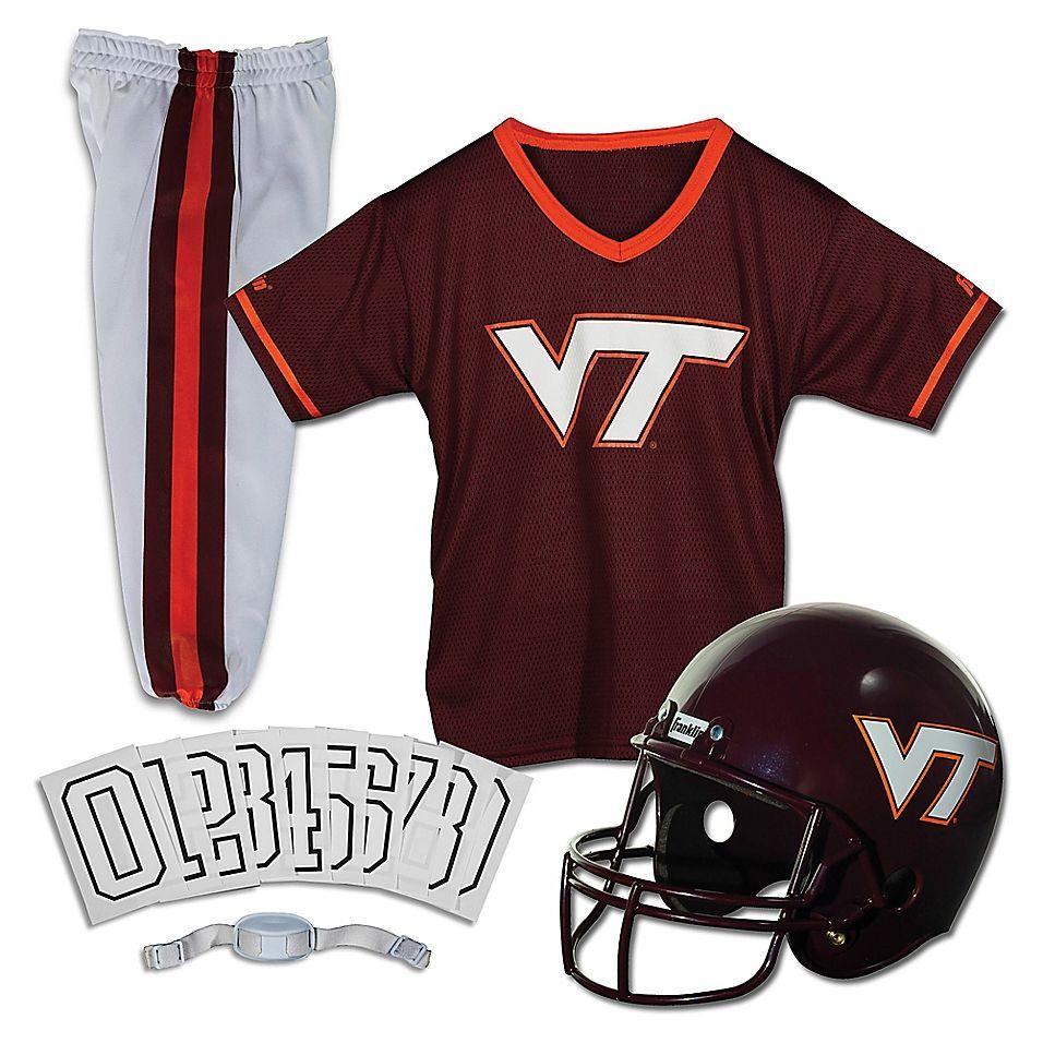 Virginia Tech University Size Medium Youth Deluxe Uniform