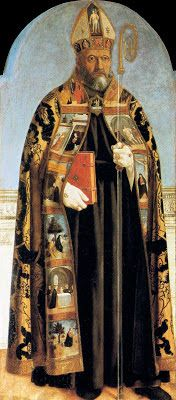 Today with the Saints: August 28: Saint Augustine of Hippo • Activity: Memorize Colossians 3:5.